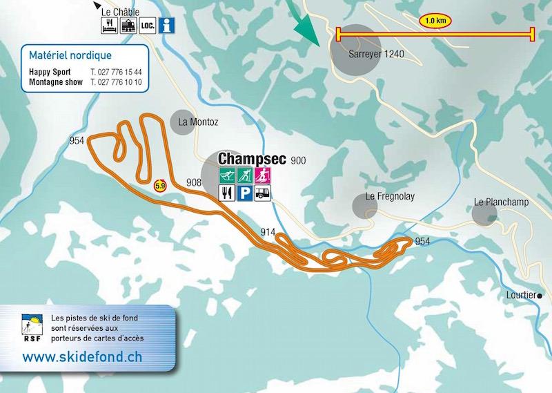 Championnats romands à Champsec !