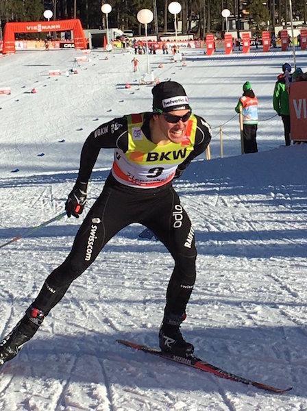 Jovian malchanceux au Tour de ski !