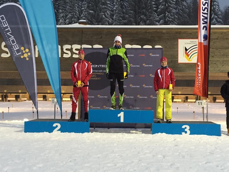 2016-01-16/17 / Biathlon : 2 podiums pour Valentin !