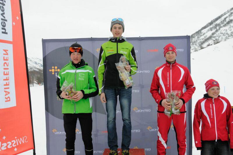 2016-03-27 / Un bellerin vainqueur au général de la Leonteq Biathlon Cup !