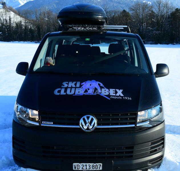 Un nouveau bus pour le ski-club !