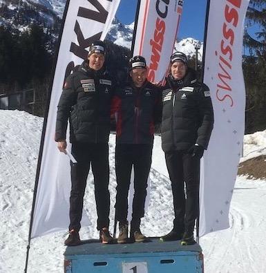 2017-02-25/26 / SwissCup…Erwan sur la plus haute marche du podium !