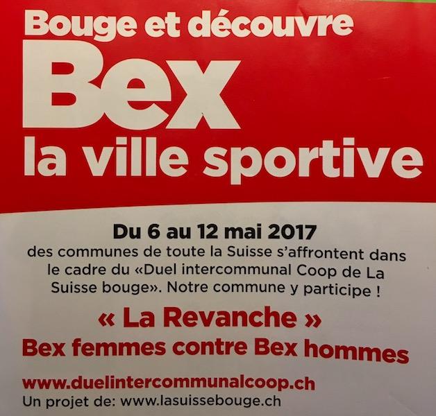 Le ski-club sera présent à la semaine BexBouge !
