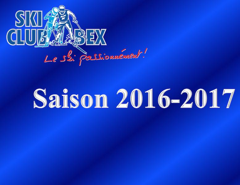Bilan saison 2016-2017