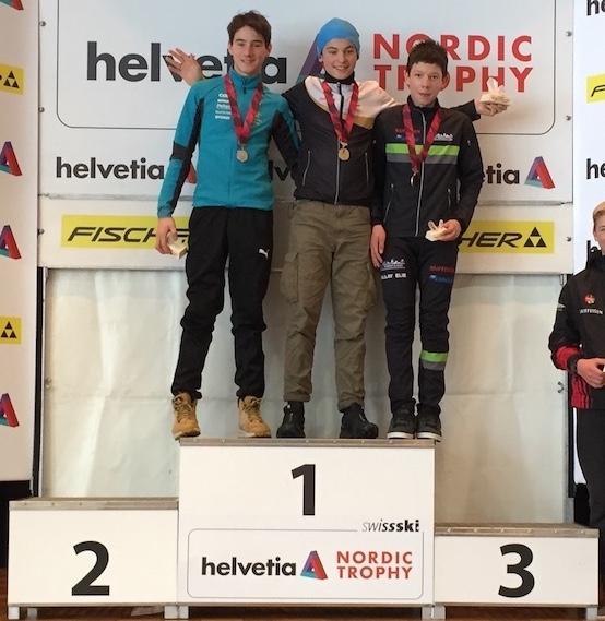 2017-12-17 / Elie Ballay sur le podium de la 1ère HNT !
