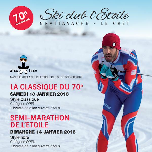 2018-01-14 / Semi-marathon de l'Etoile, les bellerins en forme !