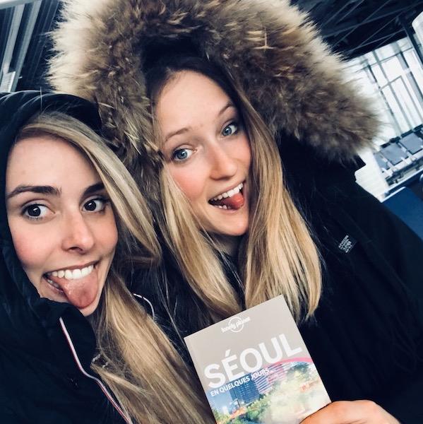 Les aventures de 2 skiclubbexgirls à PyeongChang… !!