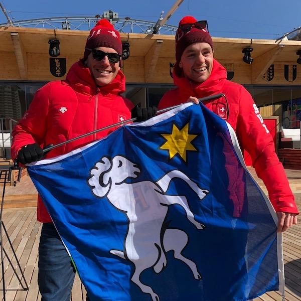 Jeux Olympiques de PyeongChang…Bravo les cousins !!