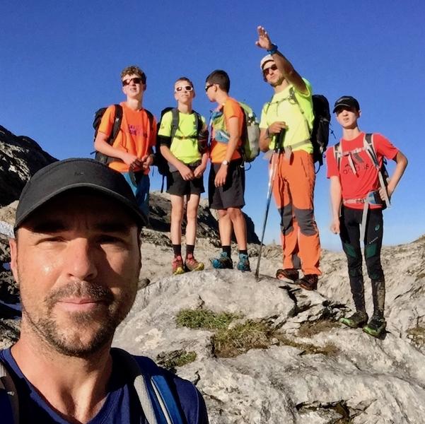 2018-09-01/02 / Camp en montagne pour les Ojs du ski-club