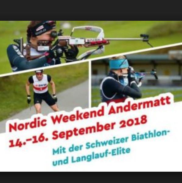 Nordic Week-end / Mael Bohren talonne Cologna en course à pieds !
