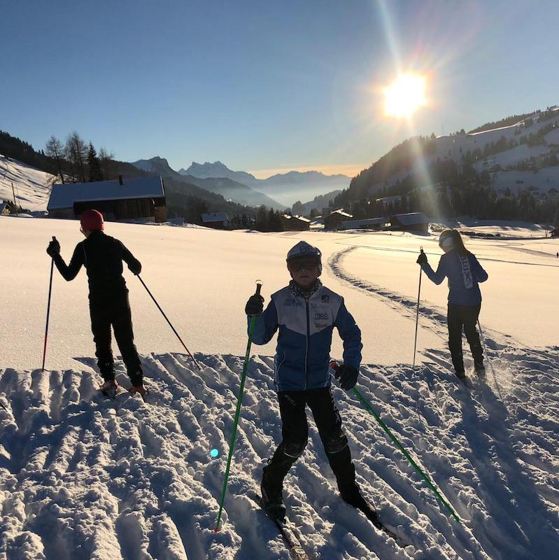 2018-12-12 / Conditions idylliques aux Mosses…