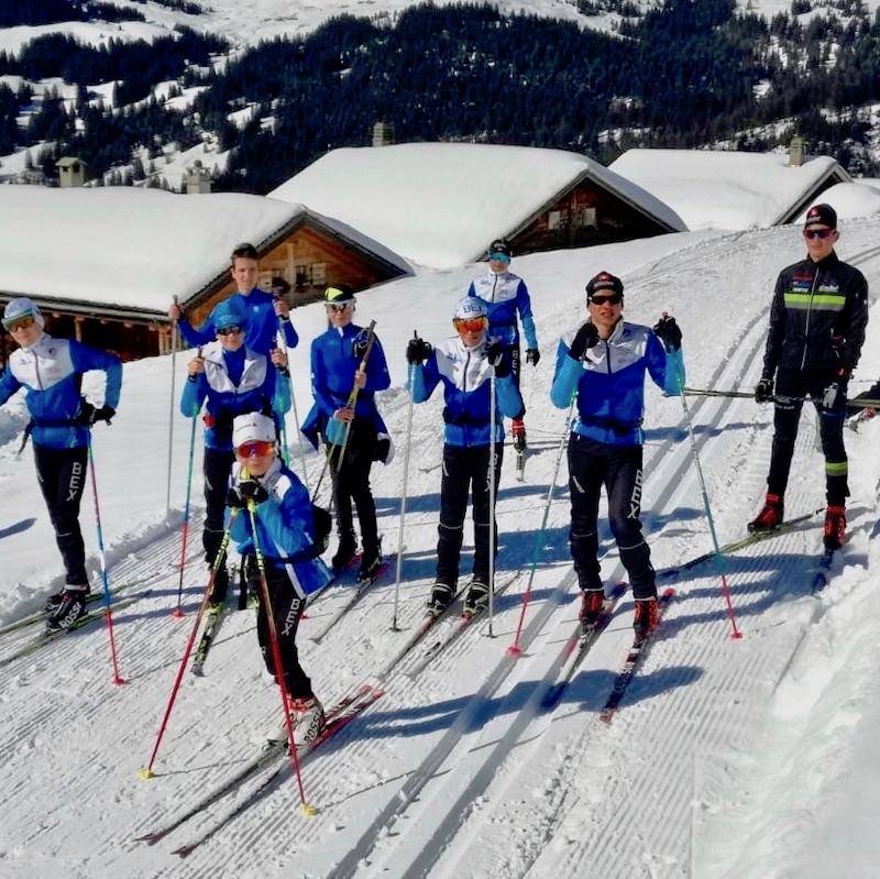 2019-03-20 / Nos fondeurs en mode alpin…