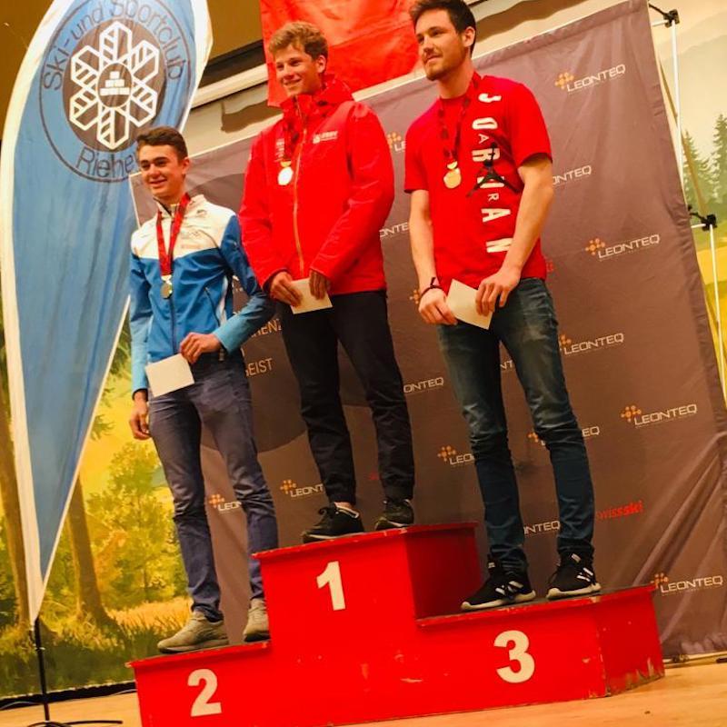 Valentin vice champion suisse de sprint en biathlon !