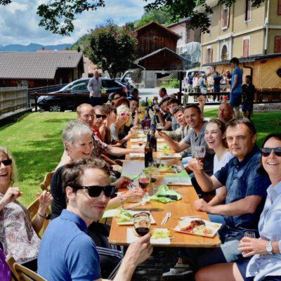 2019-06-22 / Une très belle assemblée d'été à Huémoz…