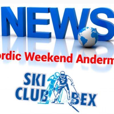 Bohren devant Cologna au Berglauf de la Nordic Weekend