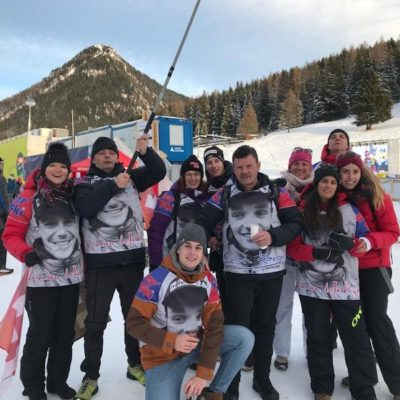 Le Fan club à Davos pour suivre les cousins !