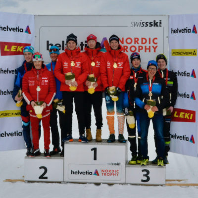 Médaille de bronze aux championnats suisses U16 !
