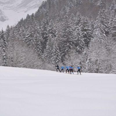 "Un ""mini"" camp très hivernal…"